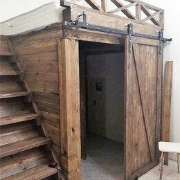 Кровати - Кровать-чердак гардеробная Белиша, 0