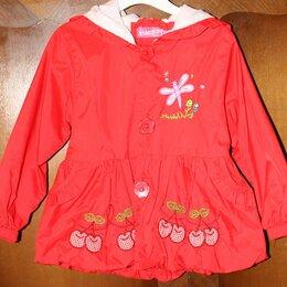 Куртки и пуховики - Ветровка с капюшоном для девочки, р. 98, 0
