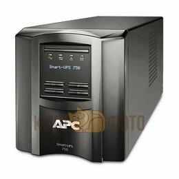 Источники бесперебойного питания, сетевые фильтры - ИБП APC SMT750I, 0