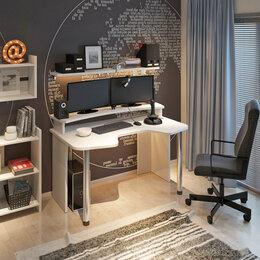 Компьютерные и письменные столы -  Игровой стол для геймера 'Turbo W 1200', pearl, 0