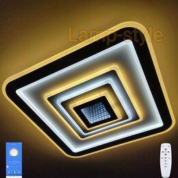 Люстры и потолочные светильники - Люстра светодиодная с 3D-эффектом и пультом (№243), 0