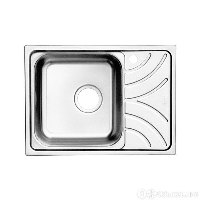 Мойка Iddis Arro S ARR60SLi77 60.5х44 см шелк, чаша слева по цене 6290₽ - Кухонные мойки, фото 0