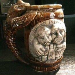 Подарочные наборы - Декоративная керамическая пивная кружка, 0