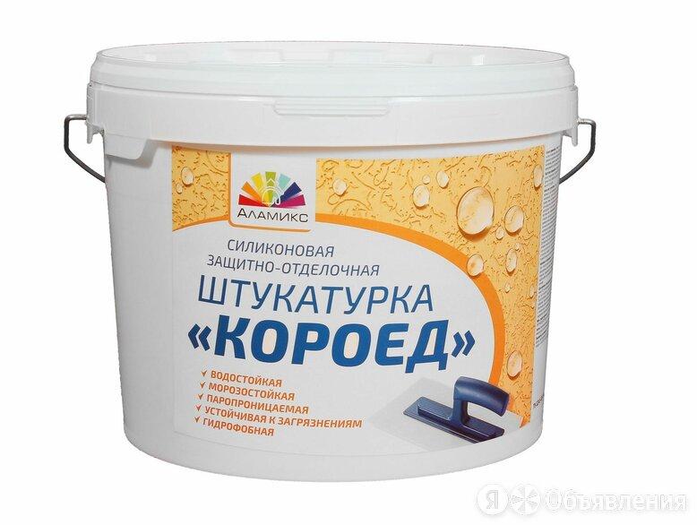 Штукатурка силиконовая защитно-отделочная «Короед» по цене 2850₽ - Фактурные декоративные покрытия, фото 0