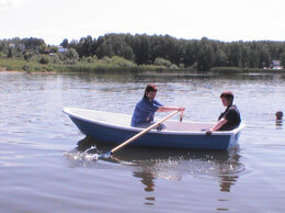 Моторные лодки и катера - Гребномоторная лодка Алей-310, 0