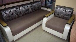 Диваны и кушетки - Комплект мебели Квадро М диван и кресло, 0