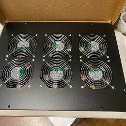 Аксессуары для сетевого оборудования - Вентиляторный блок для напольных шкафов (TLK-FAN6-BK), 0