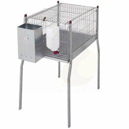 Сельскохозяйственные животные - Клетка для кроликов 96 см односекционная -…, 0