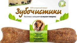 Корма  - Деревенские лакомства Зубочистики для собак средни, 0