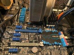 Материнские платы - Комплект Asus p8z77-v deluxe / Intel core i7 3770k, 0
