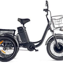 Велосипеды - Трицикл Eltreco Porter Fat 500 (Черный-2410), 0