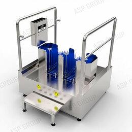 Аппараты для чистки обуви - Станция гигиены обуви (санпропускник) ASP-L-10, 0