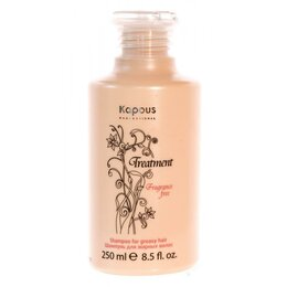 Шампуни - Шампунь для жирных волос Kapous Treatment, 250 мл, 0