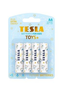 Батарейки - Батарейки TESLA AA TOYS BOY Alkaline (LR06/блистер, 0