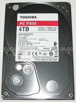 """Внешние жесткие диски и SSD - Жесткий диск 4Tb SATA3 3.5"""" Toshiba P300…, 0"""