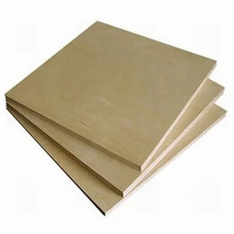 Древесно-плитные материалы - Фанера (1,525х1,525) х 6мм 4/4, 0