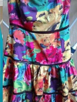 Платья - Сарафан новый Anna Sui 44 46 М клеш миди…, 0