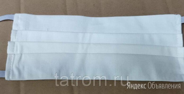 Маска защитная многоразовая 2-х слойная на резинках по цене 150₽ - Маски, фото 0