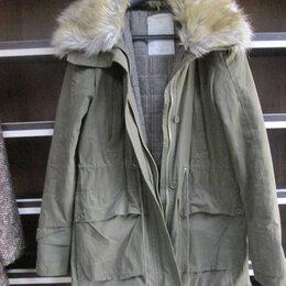 Куртки - Куртка парка с мехом и капюшон., 0