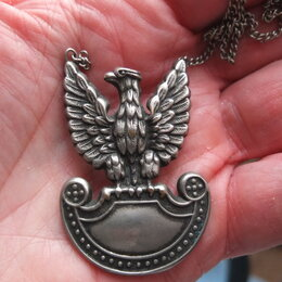 Военные вещи - эмблема одноглавый орел,старинная, 0