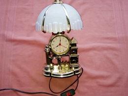 Часы настольные и каминные - Часы-Светильник оригинальные, (с Доставкой), 0