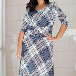 Платья - Элегантное весеннее платье Filigrana 54 размера, 0