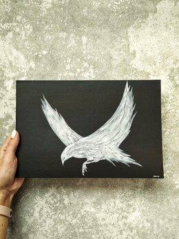 """Картины, постеры, гобелены, панно - Картина акрил 20х30 """"Белая ворона"""" , 0"""