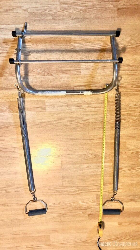Турник с пружинами для тренировки рук по цене 500₽ - Эспандеры и кистевые тренажеры, фото 0