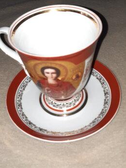 Кружки, блюдца и пары - Чайная пара подарочная, 0