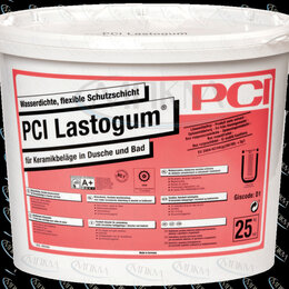 Изоляционные материалы - Обмазочная гидроизоляция PCI Lastogum для ванной, душевой, сан узла, 0