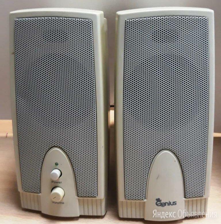 Колонки музыкальные для компьютера по цене 1000₽ - Компьютерная акустика, фото 0