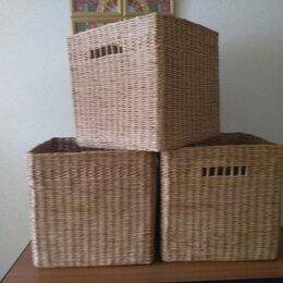 Корзины, коробки и контейнеры - Короба плетеные, 0