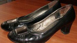 Туфли - Туфли черные натуральная кожа POLANNI р.39-40…, 0
