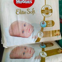 Подгузники - Подгузники Huggies elite soft 2, 82шт, 0