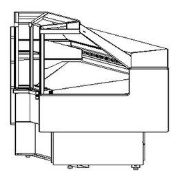 Холодильные витрины - Холодильная витрина Полюс Bavaria 2 GC110 VM-6 /…, 0