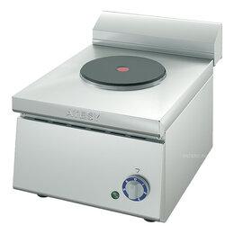 Промышленные плиты - Электроплита ATESY Таверна-2005 (1-конфорочная, l=300 мм), 0