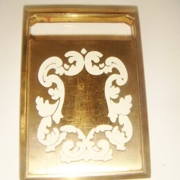 Для лица - Пудренница позолота эмаль Richard Hudnut 24 карата 30-40 х годов., 0