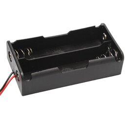Батарейки - Держатель для двух батарей 18650 TZT, 0