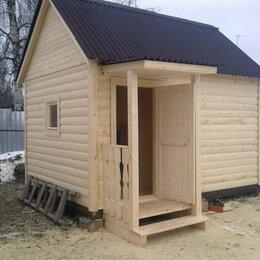 Готовые строения - Баня каркасная деревянная садовая строительство под ключ 4*4 метра, 0