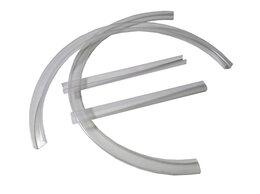 Аксессуары для безопасности - Антигрыз на овальную кроватку П-образная 40*20 мм, 0