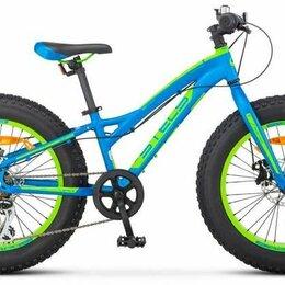 """Велосипеды - Велосипед Фэт-байк STELS Aggressor D 26 V010 синий 20"""" рама, 0"""