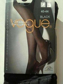 Колготки и носки - Колготки новые Voque 44 46 70 DEN черные плотные…, 0