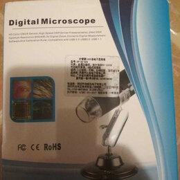 Микроскопы - Цифровой микроскоп новый 1000x, 0