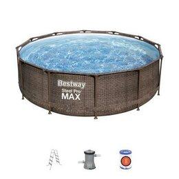 Бассейны - 56709 Bestway Каркасный бассейн Steel Pro Max…, 0