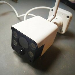 Камеры видеонаблюдения - 2 Mpix IP WiFi уличная видеокамера со звуком, 0