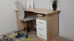 Компьютерные и письменные столы - Стол письменный Гарвард эргономичный, 0