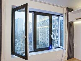 Окна - Трехстворчатое окно с ламинацией внутри +…, 0