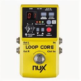 Процессоры и педали эффектов - Loop-Core Педаль эффектов, Nux Cherub , 0