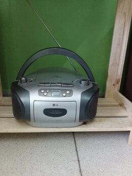 Музыкальные центры,  магнитофоны, магнитолы - Бумбокс LG LPC-140X.Доставка, 0