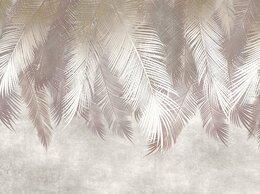Обои - Бесшовные фотообои Пальмовые листья, 0